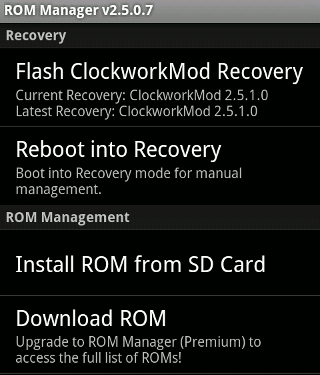 Android-Rom-Manager