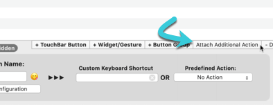 Customize-Touch-Bar-Bettertouchtool-Add-Additional-Action