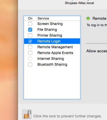 Remote-Login-Mac-Enable
