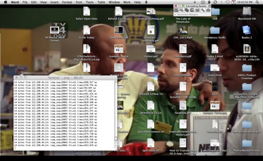 Movist-as-Desktop-Hintergrund