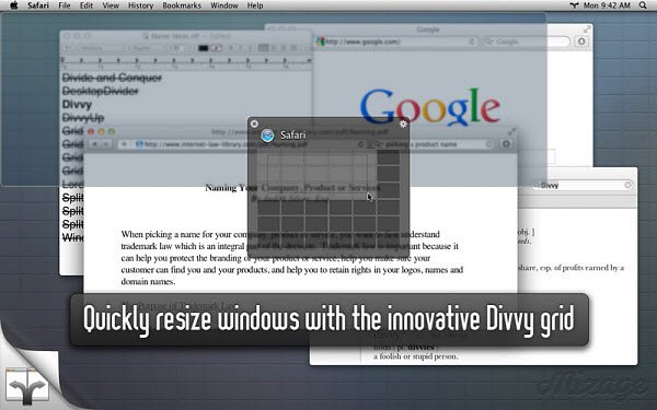 Divvy Mac Window Manager