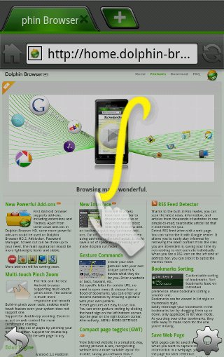 Android-Browser-Delphin-HD-Geste